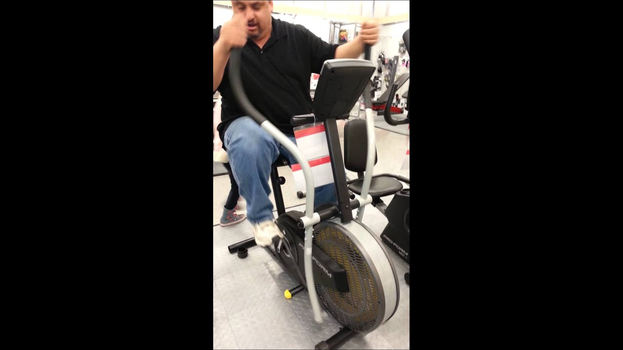 Stationary Bike Fail Youtube