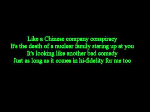 Green day - Nuclear Family ( Lyrics)