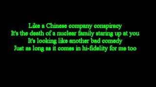 Green day - Nuclear Family ( Lyrics)