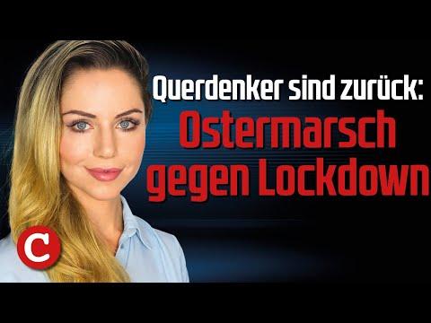 Querdenker sind zurück: Ostermarsch gegen Lockdown – Die Woche COMPACT