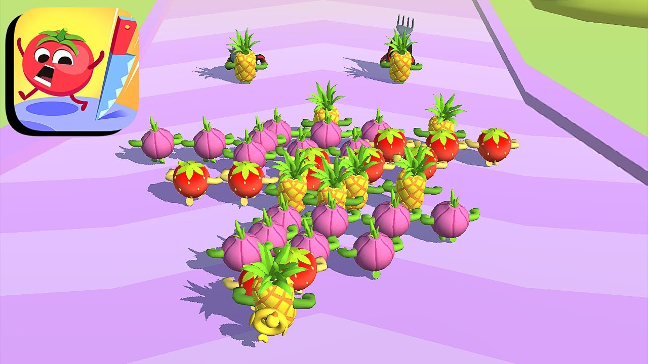 Fruit Rush - All Levels Gameplay Android,ios (Levels 27-34) - YouTube