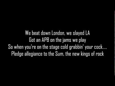 Sum 41 - What we're all about (lyric)