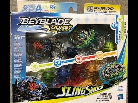 Beyblade Burst Turbo Master Set Unboxing!
