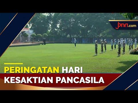Peringatan Hari Kesaktian Pancasila, Presiden Jokowi jadi Inspektur Upacara