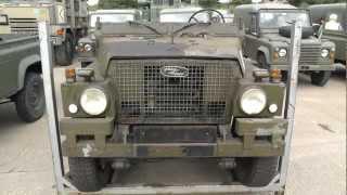 Witham Military Vehicle Auction Surplus CET CVRT Stormer Landrover etc August 2012