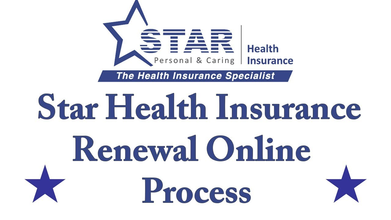 Star Health Insurance Renewal Online Process Youtube