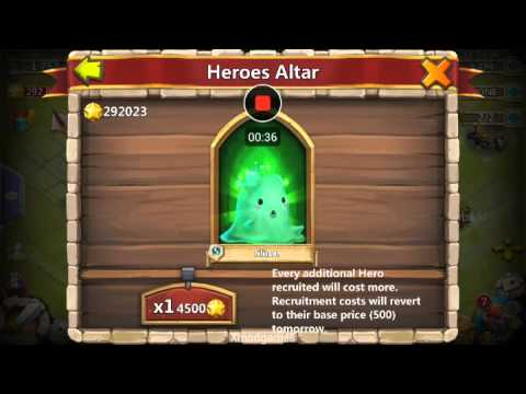 Trick 150 gems legend castle clash 100% - YouTube