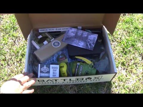 Battlbox (Battle Box) Mission 26 - DOPP Kit - April 2017 Pro Plus Unboxing and Review