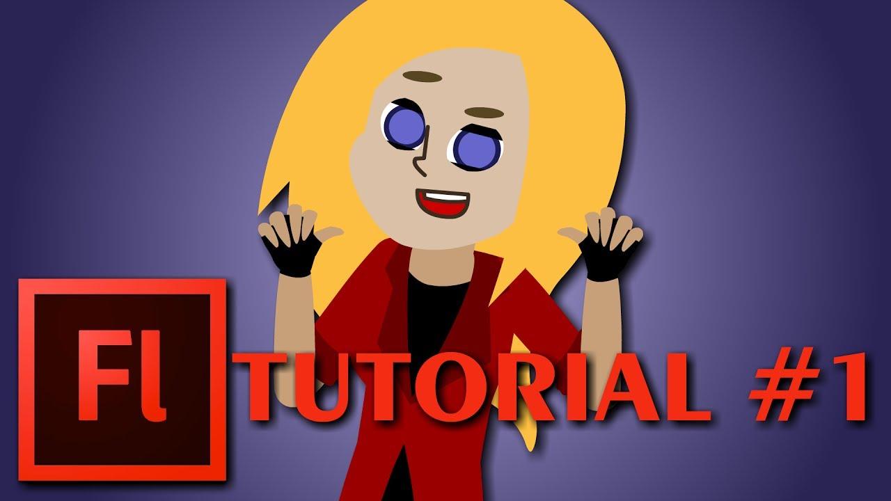 TUTORIAL  Adobe Flash Professional CS6 #1 | ApriL ArtAnimation