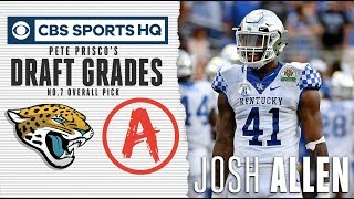Jacksonville lucked out when Josh Allen fell into their lap | NFL Draft 2019 | CBS Sports HQ