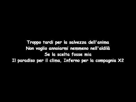 Co' Sang & Marracash - Se la Scelta Fosse Mia
