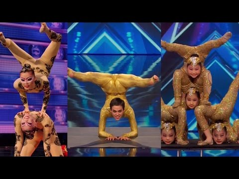 America\'s Got Talent S09E05 Contortionist Compilation