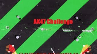 challenge get a 2 k d with the ak47 w o attachments