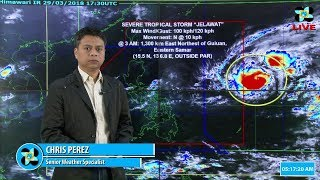 Public Weather Forecast Issued at 4:00 AM March 30, 2018