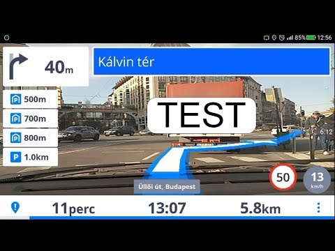 TEST SYGIC REAL VIEW NAVIGATION