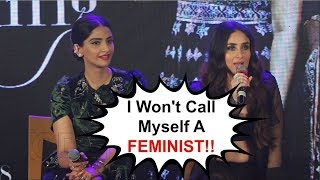 Kareena Kapoor ANGRY When Called A Feminist | Veere Di Wedding Music Launch
