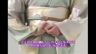 着物(きもの)着くずれた時の直し方❖日本通TV