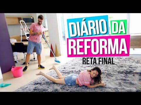 DIÁRIO DA DECORAÇÃO E MUDANÇA  - RETA FINAL ♡
