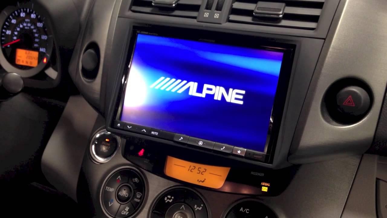 2010 Toyota Rav4 Alpine Perfect Fit Youtube