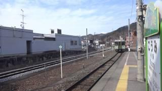 小海線キハ110系 小海駅入線