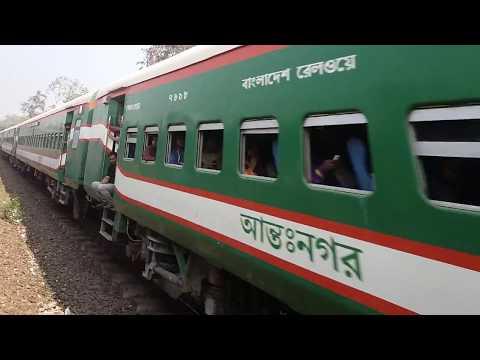 Bangladesh railway journey by train (অগ্নিবীনা এক্সপ্রেস)Dhaka to Dhaka Airport railway station