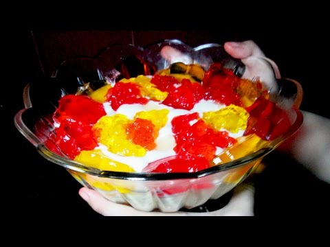 Easy Custard Trifle – Homemade Custard Recipe – Easy Dessert Recipe