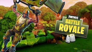 New Fortnite Bush Update // Getting Solo Wins! (Fortnite Battle Royale)