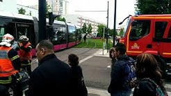 Accident tramway a chenove