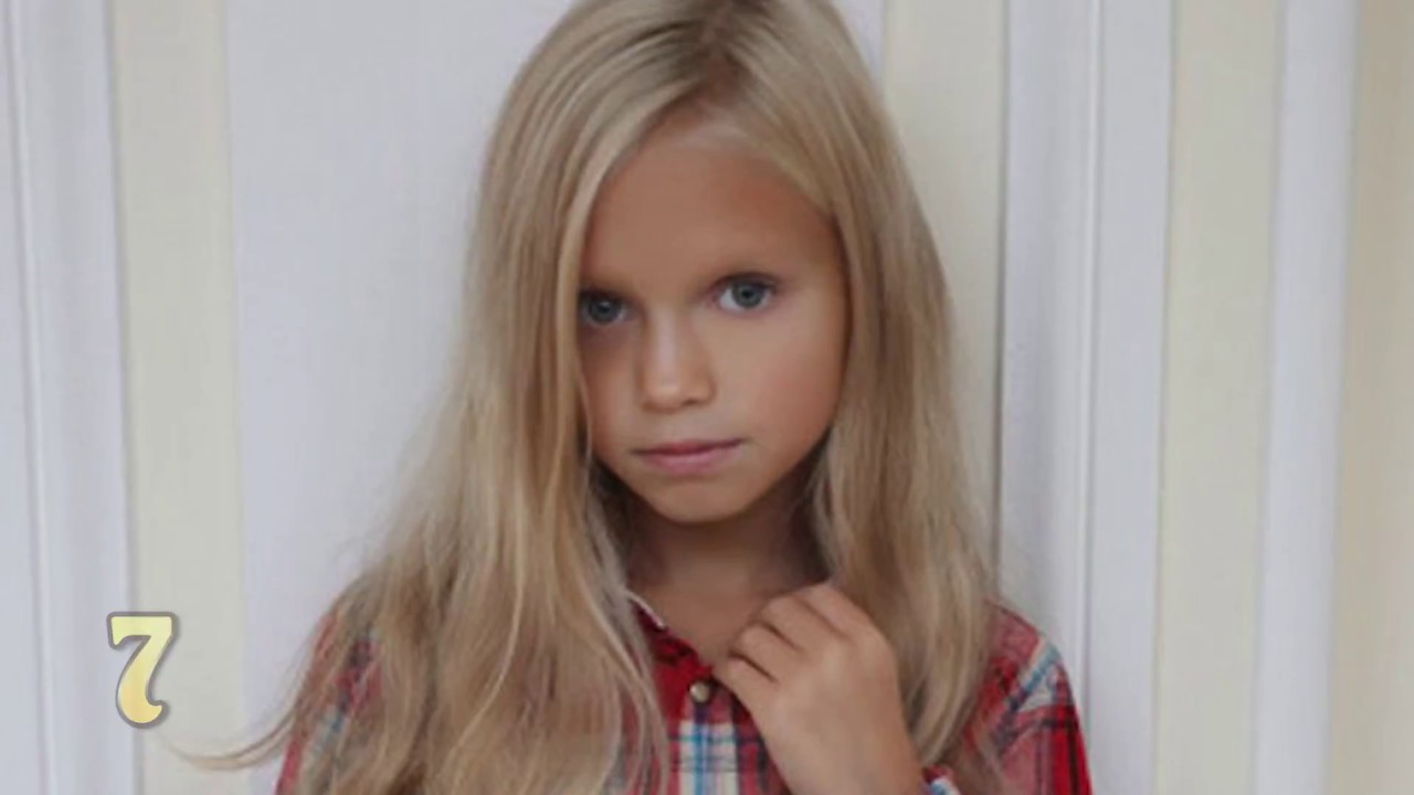 Top 10 Non U.S. Child Models