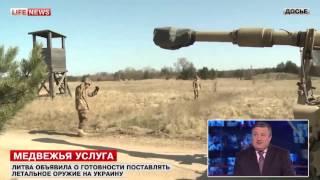 Эксперт: оружие из США попадет на Украину через Литву