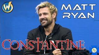 CONSTANTINE - Matt Ryan Panel - Wizard World Cleveland 2019