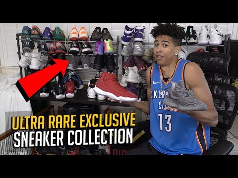 MY ULTRA RARE SNEAKER COLLECTION! New Exclusive Nike Shoes! 😱