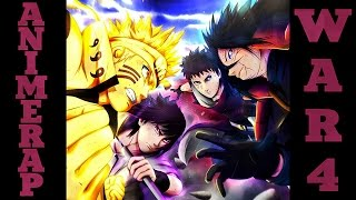 AnimeRap - Реп про 4 Мировую Войну Шиноби | Fourth Shinobi World War  Rap 2015