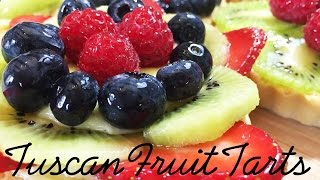 Tuscan Fruit Tarts By Stacee In Tuscany
