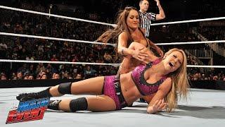 Paige & Emma vs. The Bella Twins: WWE Main Event, February 28, 2015