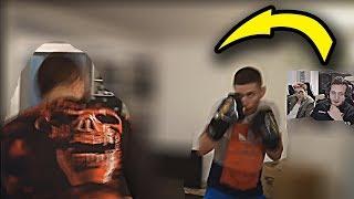 BOXDEL OGLĄDA TRENING RAFONIX Z BUCZKIEM PRZED GALĄ FAME MMA!!