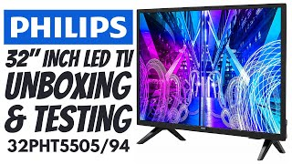 Budget 32 quot LED TV Under 15K Philips 32 quot Inch LED TV 32PHT5505 94 Unboxing and Testing 32 quot LED TV