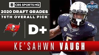 Buccaneers make a CURIOUS selection with Ke'Shawn Vaughn with the 76th overall pick | 2020 NFL Draft