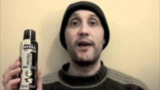NIVEA black & white deodorent review - tigerstripes