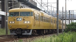 【4K】JR山陽本線 普通列車117系電車 オカE-05編成+オカE-06編成