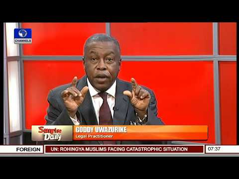 Operation Python Dance: The Whole Of Abia State Is Now A War Front - Uwazurike Pt.1 |Sunrise Daily|