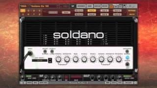Amplitube Custom Shop - Soldano Slo 100 - Smooth, High End Tone On Your Computer