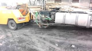 Первая перевозка тягача Эвакуатором(, 2016-04-18T15:35:26.000Z)