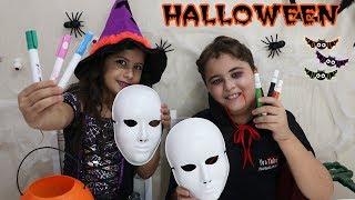 DESAFIO COLORINDO COM 3 CORES NO HALLOWEEN ★ 3 colors halloween challenge