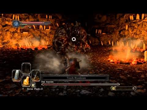Dark Souls 2 Black Gulch Boss The Rotten