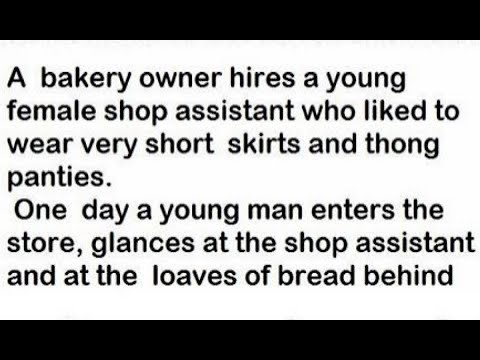 A Bakery Owner Hires A Young Female Shop Assistant Who Liked To Wear Very Short Skirts And Thong Pan