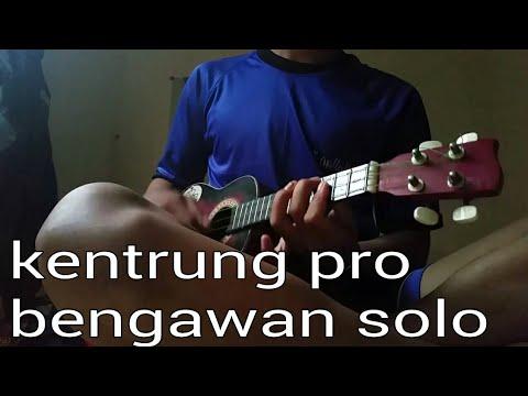 Kentrung variasi nada indah, Bengawan solo cover