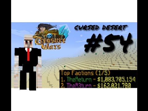 1 BILLION DOLLARS!! (RICHEST FACTION ON THE WHOLE OF TREASURE WARS) Ep 54