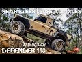 LAND ROVER DEFENDER 110 WALKTROUGH | MD PORTALS  | ULTIMATE 4WD | REAR STEER | ALLOFFROAD#136
