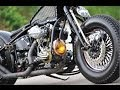 Custom Harley-Davidson 1947 Knucklehead Bobber by Copper Mike @ Harley's 110th (Motorcycle Video)